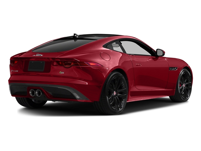 Italian Racing Red Metallic 2017 Jaguar F-TYPE Pictures F-TYPE Coupe 2D S V6 photos rear view