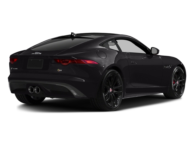 Ultimate Black Metallic 2017 Jaguar F-TYPE Pictures F-TYPE Coupe 2D S V6 photos rear view