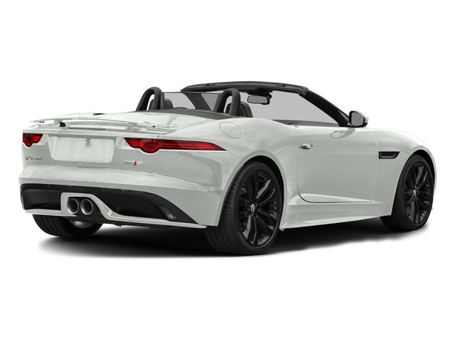 Polaris White 2017 Jaguar F-TYPE Pictures F-TYPE Convertible 2D S AWD V6 photos rear view