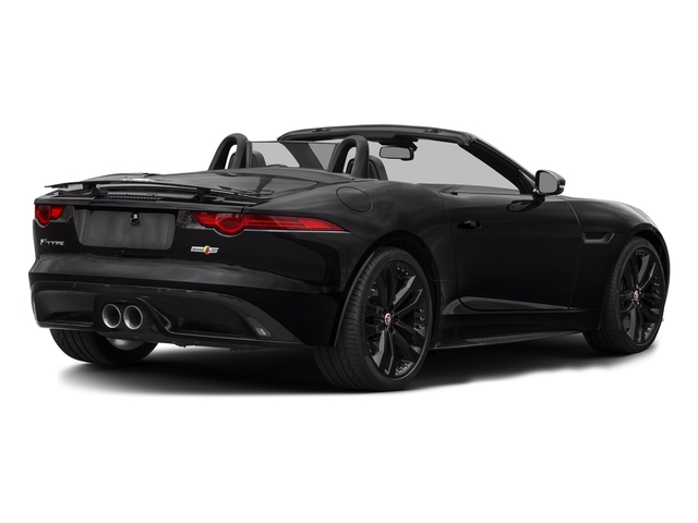 Ultimate Black Metallic 2017 Jaguar F-TYPE Pictures F-TYPE Convertible 2D S AWD V6 photos rear view