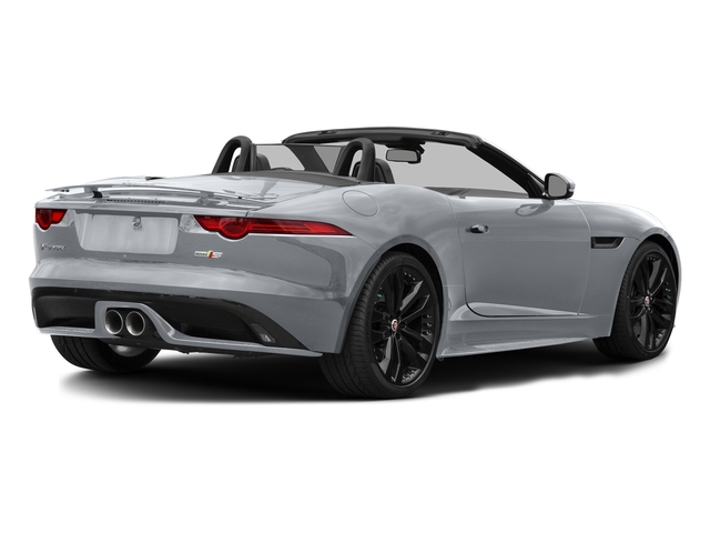 Glacier White Metallic 2017 Jaguar F-TYPE Pictures F-TYPE Convertible 2D S AWD V6 photos rear view