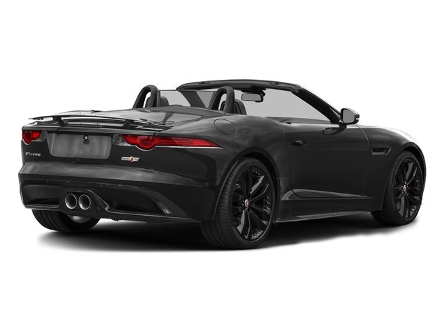 Storm Grey 2017 Jaguar F-TYPE Pictures F-TYPE Convertible 2D S AWD V6 photos rear view