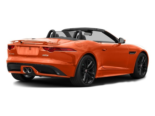 Firesand Metallic 2017 Jaguar F-TYPE Pictures F-TYPE Convertible 2D S AWD V6 photos rear view