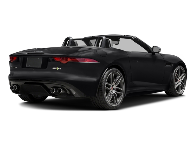 Ebony Black 2017 Jaguar F-TYPE Pictures F-TYPE Convertible 2D R AWD V8 photos rear view