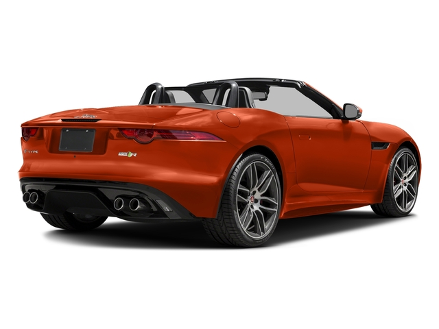 Firesand Metallic 2017 Jaguar F-TYPE Pictures F-TYPE Convertible 2D R AWD V8 photos rear view
