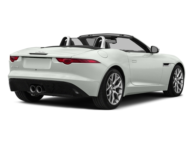 Polaris White 2017 Jaguar F-TYPE Pictures F-TYPE Convertible Auto photos rear view