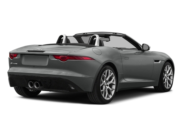 Ammonite Grey Metallic 2017 Jaguar F-TYPE Pictures F-TYPE Convertible Auto Premium photos rear view