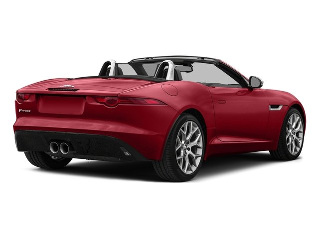 Italian Racing Red Metallic 2017 Jaguar F-TYPE Pictures F-TYPE Convertible 2D Premium V6 photos rear view