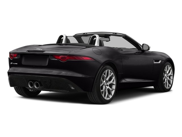 Ultimate Black Metallic 2017 Jaguar F-TYPE Pictures F-TYPE Convertible Auto Premium photos rear view