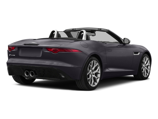 Black Berry 2017 Jaguar F-TYPE Pictures F-TYPE Convertible Manual Premium photos rear view