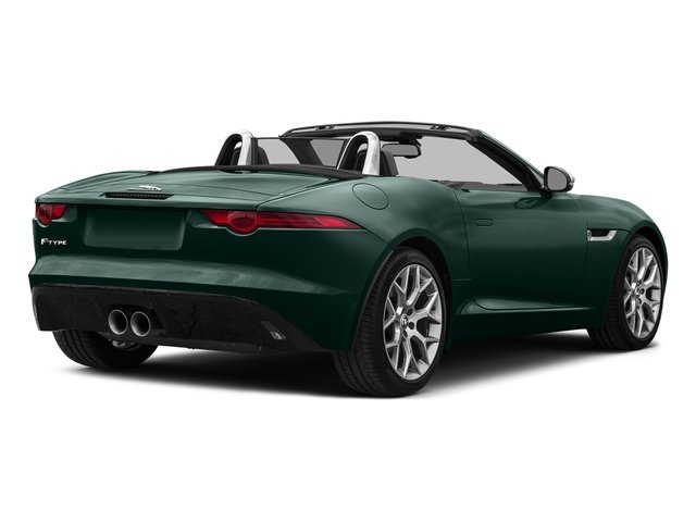 British Racing Green Metallic 2017 Jaguar F-TYPE Pictures F-TYPE Convertible Auto Premium photos rear view