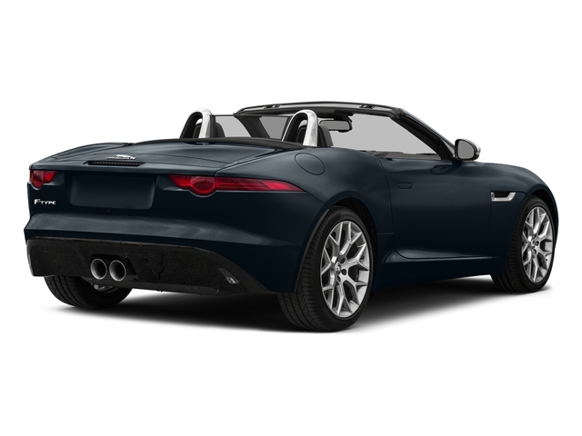 Dark Sapphire Metallic 2017 Jaguar F-TYPE Pictures F-TYPE Convertible Auto Premium photos rear view