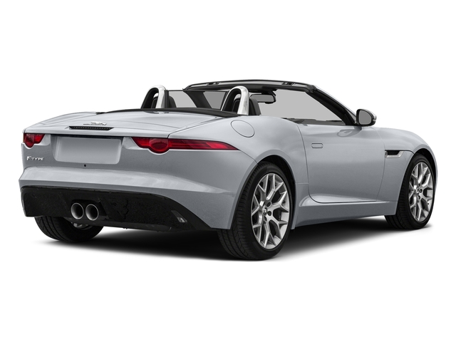 Glacier White Metallic 2017 Jaguar F-TYPE Pictures F-TYPE Convertible Auto Premium photos rear view