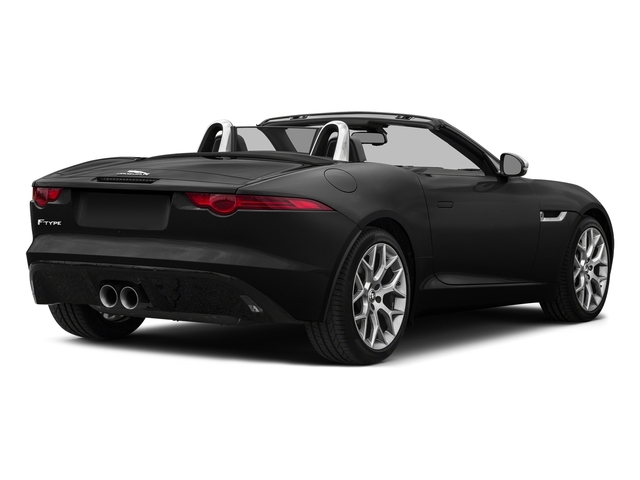 Storm Grey 2017 Jaguar F-TYPE Pictures F-TYPE Convertible Auto photos rear view