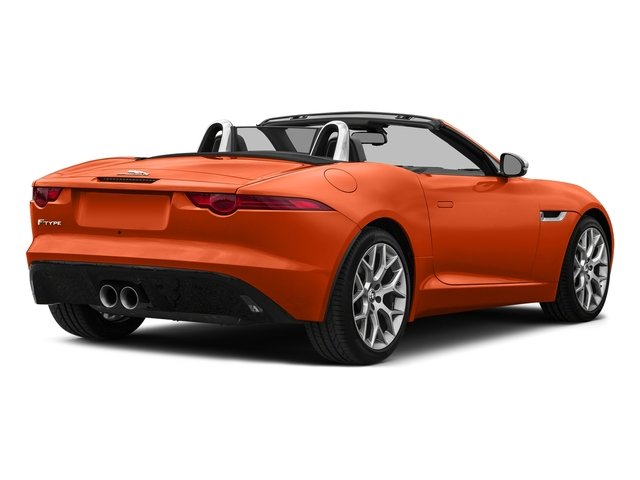 Firesand Metallic 2017 Jaguar F-TYPE Pictures F-TYPE Convertible Auto Premium photos rear view