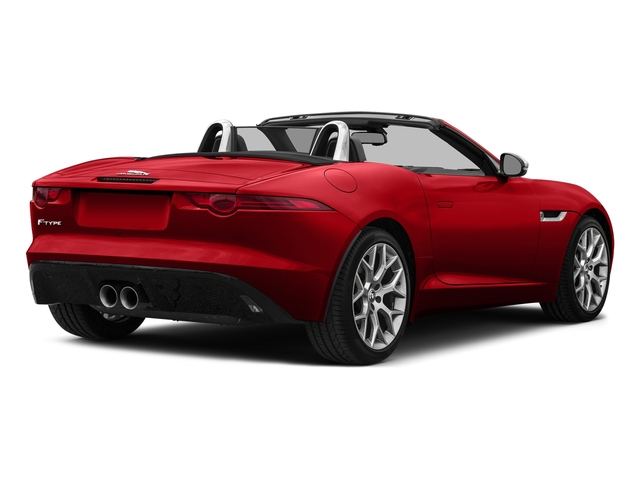 Caldera Red 2017 Jaguar F-TYPE Pictures F-TYPE Convertible Auto photos rear view