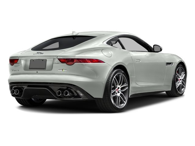 Polaris White 2017 Jaguar F-TYPE Pictures F-TYPE Coupe 2D R AWD V8 photos rear view