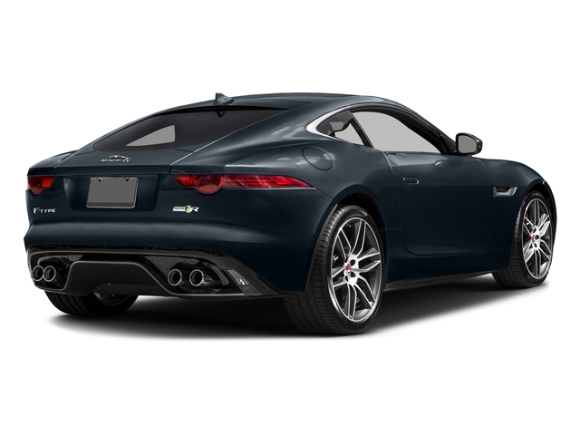 Dark Sapphire Metallic 2017 Jaguar F-TYPE Pictures F-TYPE Coupe 2D R AWD V8 photos rear view