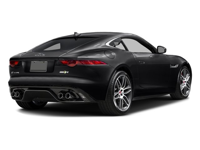 Ebony Black 2017 Jaguar F-TYPE Pictures F-TYPE Coupe 2D R AWD V8 photos rear view