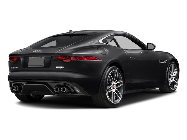 Storm Grey 2017 Jaguar F-TYPE Pictures F-TYPE Coupe 2D R AWD V8 photos rear view