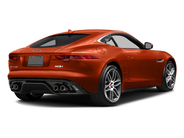 Firesand Metallic 2017 Jaguar F-TYPE Pictures F-TYPE Coupe 2D R AWD V8 photos rear view