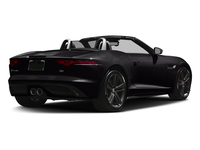 Ultimate Black Metallic 2017 Jaguar F-TYPE Pictures F-TYPE Convertible Auto S British Design Edition photos rear view