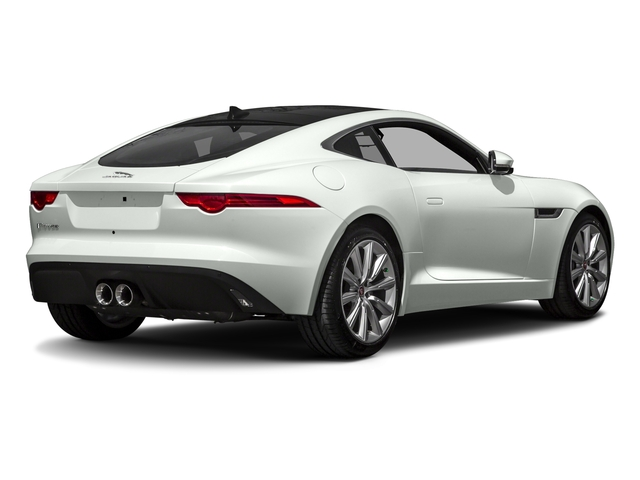 Polaris White 2017 Jaguar F-TYPE Pictures F-TYPE Coupe Auto photos rear view