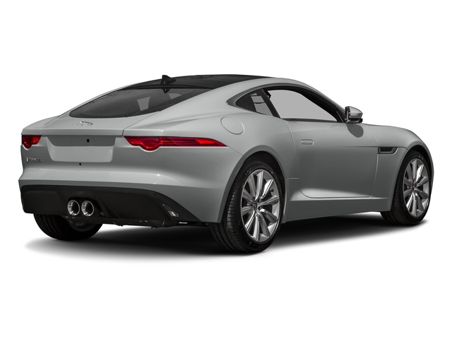 Rhodium Silver Metallic 2017 Jaguar F-TYPE Pictures F-TYPE Coupe Auto photos rear view