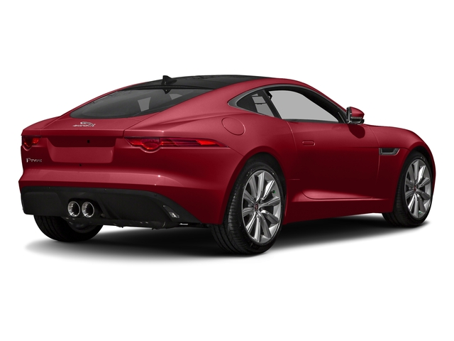 Italian Racing Red Metallic 2017 Jaguar F-TYPE Pictures F-TYPE Coupe 2D Premium V6 photos rear view