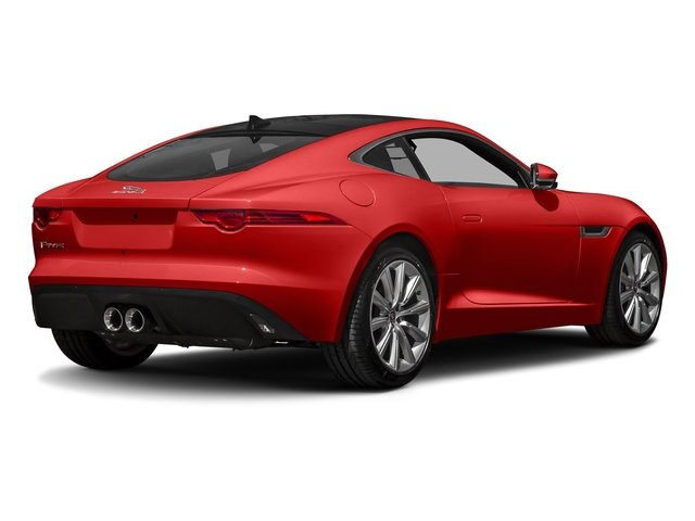 Caldera Red 2017 Jaguar F-TYPE Pictures F-TYPE Coupe Auto photos rear view