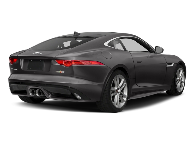 Ammonite Grey Metallic 2017 Jaguar F-TYPE Pictures F-TYPE Coupe Auto S AWD photos rear view