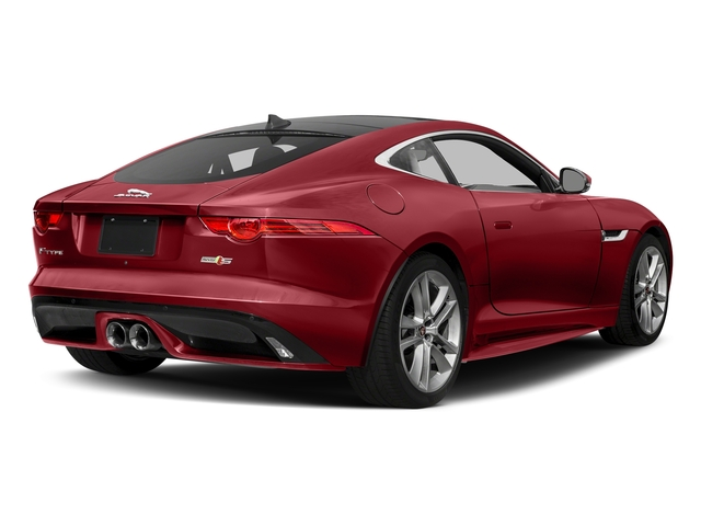 Italian Racing Red Metallic 2017 Jaguar F-TYPE Pictures F-TYPE Coupe Auto S AWD photos rear view