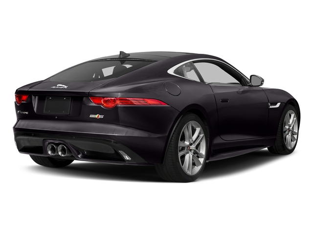 Black Berry 2017 Jaguar F-TYPE Pictures F-TYPE Coupe Auto S AWD photos rear view