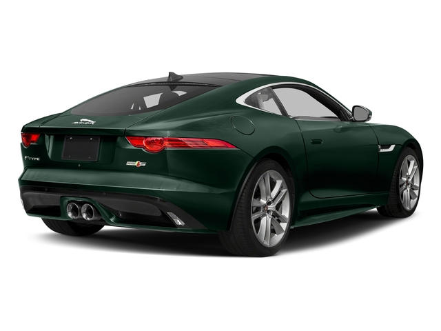 British Racing Green Metallic 2017 Jaguar F-TYPE Pictures F-TYPE Coupe Auto S AWD photos rear view