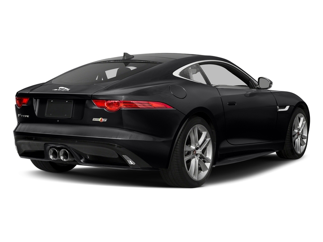 Ebony Black 2017 Jaguar F-TYPE Pictures F-TYPE Coupe Auto S AWD photos rear view