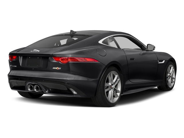 Storm Grey 2017 Jaguar F-TYPE Pictures F-TYPE Coupe Auto S AWD photos rear view