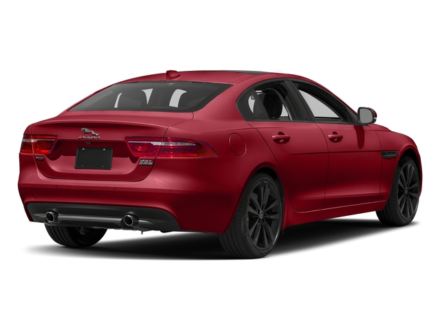 Italian Racing Red Metallic 2017 Jaguar XE Pictures XE 35t Prestige AWD photos rear view