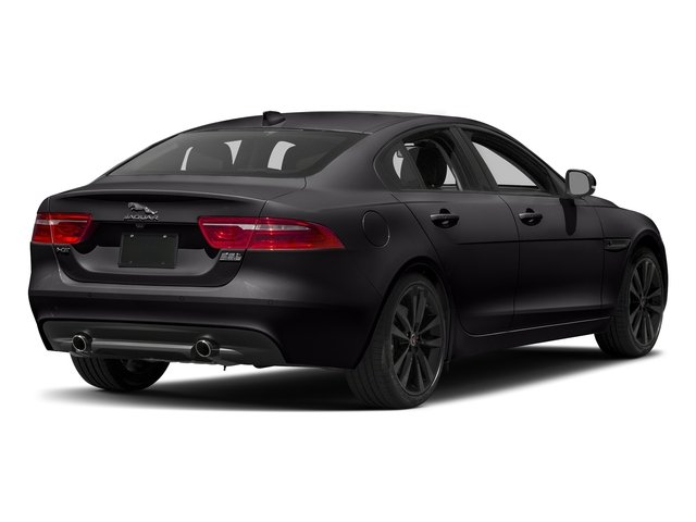 Ultimate Black Metallic 2017 Jaguar XE Pictures XE Sedan 4D 25t Premium I4 Turbo photos rear view