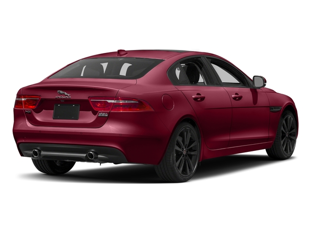 Odyssey Red Metallic 2017 Jaguar XE Pictures XE Sedan 4D 25t Premium I4 Turbo photos rear view