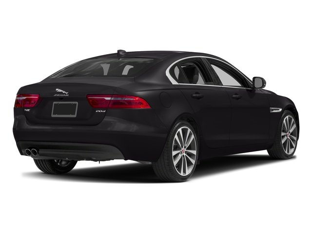 Ultimate Black Metallic 2017 Jaguar XE Pictures XE Sedan 4D 20d Prestige I4 AWD T-Dsl photos rear view