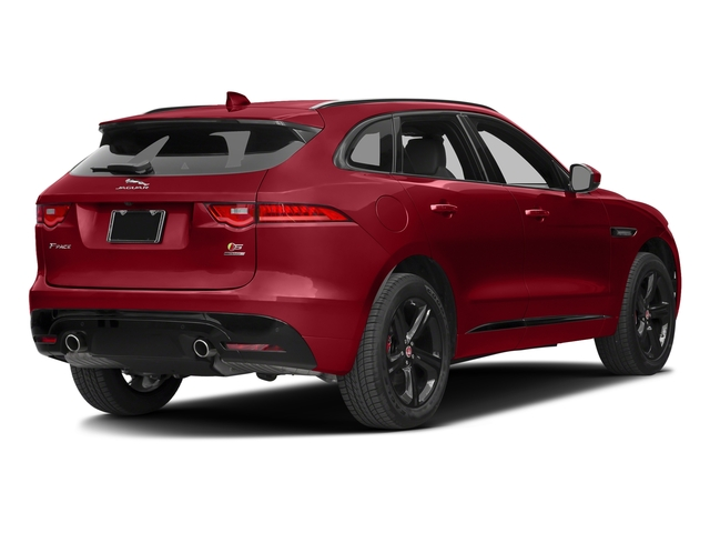Italian Racing Red Metallic 2017 Jaguar F-PACE Pictures F-PACE Utility 4D S AWD V6 photos rear view