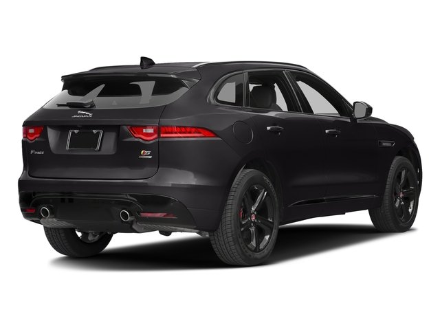 Ultimate Black Metallic 2017 Jaguar F-PACE Pictures F-PACE Utility 4D S AWD V6 photos rear view
