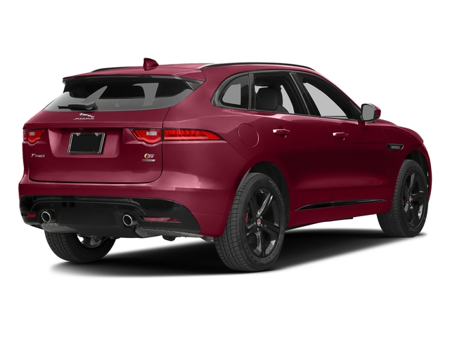 Odyssey Red Metallic 2017 Jaguar F-PACE Pictures F-PACE Utility 4D S AWD V6 photos rear view