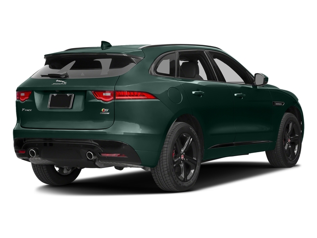 British Racing Green Metallic 2017 Jaguar F-PACE Pictures F-PACE Utility 4D S AWD V6 photos rear view