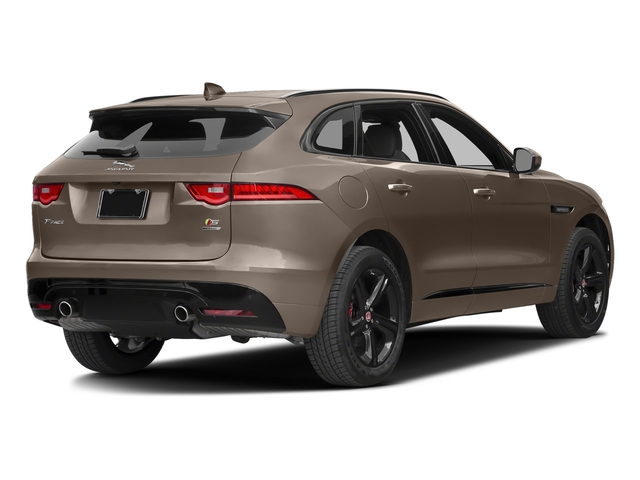 Quartzite Metallic 2017 Jaguar F-PACE Pictures F-PACE Utility 4D S AWD V6 photos rear view