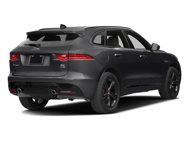 Ebony 2017 Jaguar F-PACE Pictures F-PACE Utility 4D S AWD V6 photos rear view
