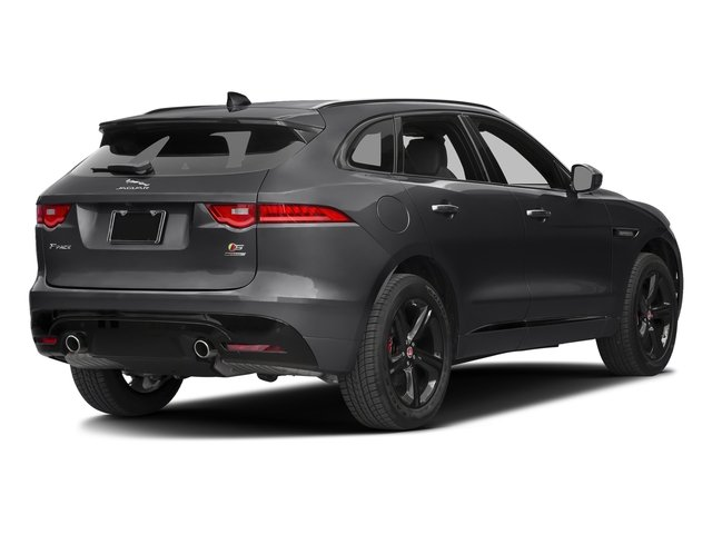 Storm Grey 2017 Jaguar F-PACE Pictures F-PACE Utility 4D S AWD V6 photos rear view