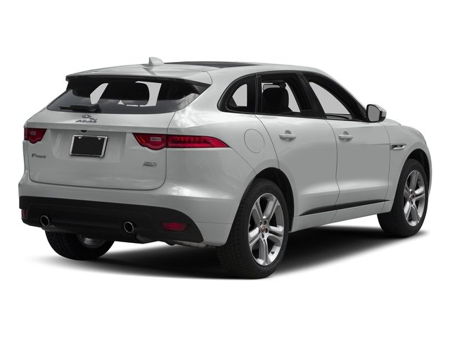Rhodium Silver Metallic 2017 Jaguar F-PACE Pictures F-PACE Utility 4D 35t R-Sport AWD V6 photos rear view