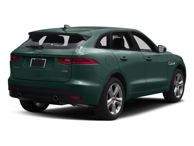 British Racing Green Metallic 2017 Jaguar F-PACE Pictures F-PACE Utility 4D 35t R-Sport AWD V6 photos rear view