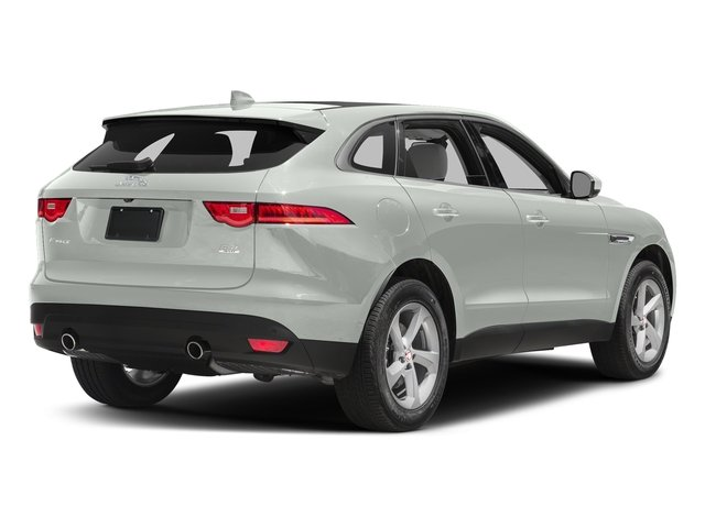Polaris White 2017 Jaguar F-PACE Pictures F-PACE 35t Prestige AWD photos rear view